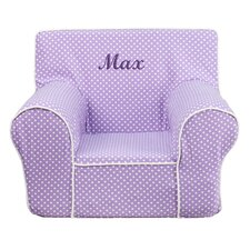 Personalized Kids Cotton Foam Chair