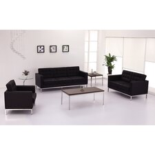 Hercules Lacey Series Leather Loveseats