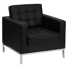 Hercules Lacey Series Leather Lounge Chair