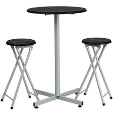 "3 Piece 38"" Pub Table & Stool Set"