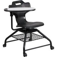 """Hercules Series 18"""" Plastic Tablet Arm Chair"""