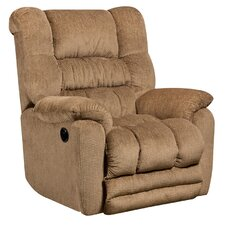 Temptation Contemporary Microfiber Power Recliner with Push Button