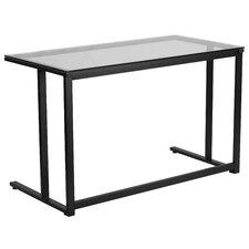 Computer Desk with Pedestal Frame