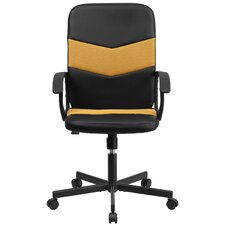 Mid-Back Black Mesh Executive Chair