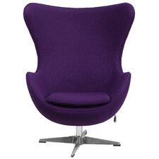 Wool Fabric Egg Chair