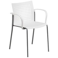 Hercules Series Stacking Dining Arm Chair