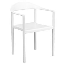 Hercules Series Cafe Stack Arm Chair