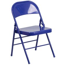 Hercules Colorburst Folding Chair