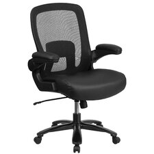 Hercules Series High-Back Mesh Executive Office Chair with Flip-up Arms