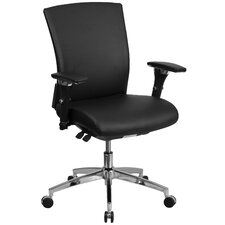Hercules Series Leather Executive Swivel Chair