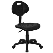 Mid-Back Tuff Butt Soft Polypropylene Utility Task Chair