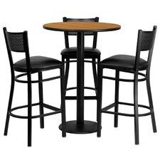 4 Piece Pub Table Set