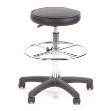 Height Adjustable Drafting Stool with Footring