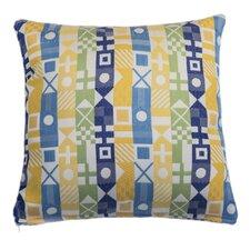 Signal Nautical Indoor/Outdoor Throw Pillow