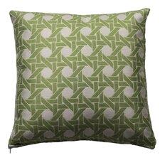 Cane Indoor/Outdoor Throw Pillow