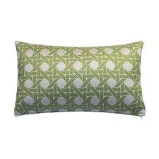 Cane Indoor/Outdoor Lumbar Pillow