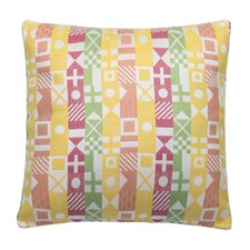 Signal Sherbert Outdoor/Indoor Throw Pillow