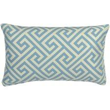 Vibrant Key Prussian Indoor/Outdoor Lumbar Pillow