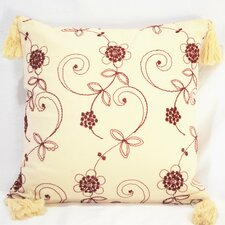 Hand Embroidered Cotton Pillow Cover