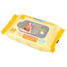 Baby Water Wipes Travel Pack (Set of 3)