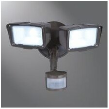 Motion Security 3 Head LED Outdoor Floodlight