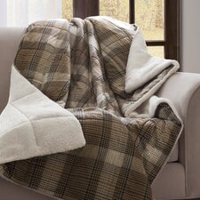 Woolrich Lumberjack Down Alternative Softspun Throw