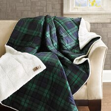 Woolrich Brewster Down Alternative Softspun Fabric Throw