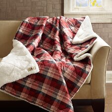Woolrich Tasha Down Alternative Softspun Fabric Throw