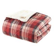 Woolrich Tasha Down Alternative Softspun Fabric Throw