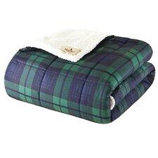 Woolrich Brewster Down Alternative Softspun Fabric Throw