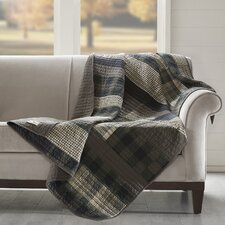 Winter Plains Quilted Cotton Throw
