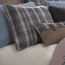 Hadley Plaid Polyester European Sham