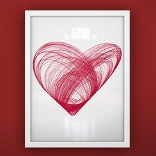 Prints Heart Unframed Art