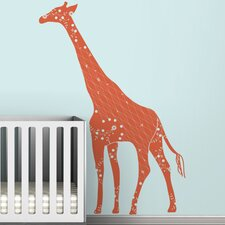 Black Label Cornet Giraffe Wall Decal