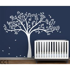 Trees Monochromatic Fall Wall Decal