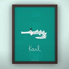 Prints Croco King Unframed Art