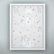 Prints Confetti Unframed Art