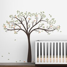 Fall Tree Extended Wall Decal