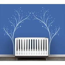 "Portal ""Twinkling Tree Gate"" Wall Decal"