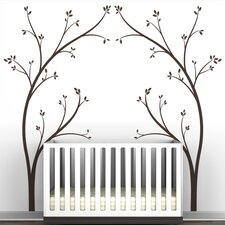 "Portal ""Tree Canopy Bed Headboard"" Wall Decal"