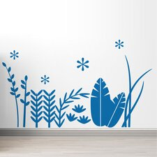Tropical Grass Wall Decal