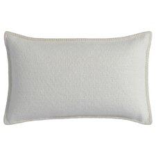 Broken Basketweave Wool Alpaca Throw Pillow
