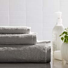 Solid Slub Bath Towel Set
