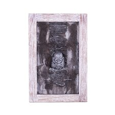 Jolly Buddha Head Lava Relief Wall Décor
