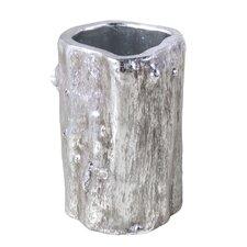 Log Round Pot Planter