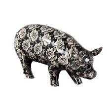 Floral Piggy Bank