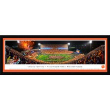 NCAA Clemson University - Football by James Blakeway Framed Photographic Print