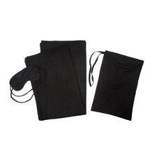 3 Piece Cashmere Throw Travel Set