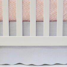 Flat Panel Scallop Crib Skirt