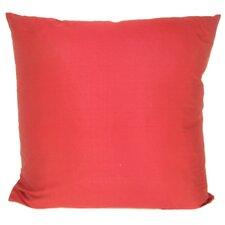 Knife Edge Silk Throw Pillow